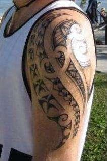 Cook Island Maori tattoo