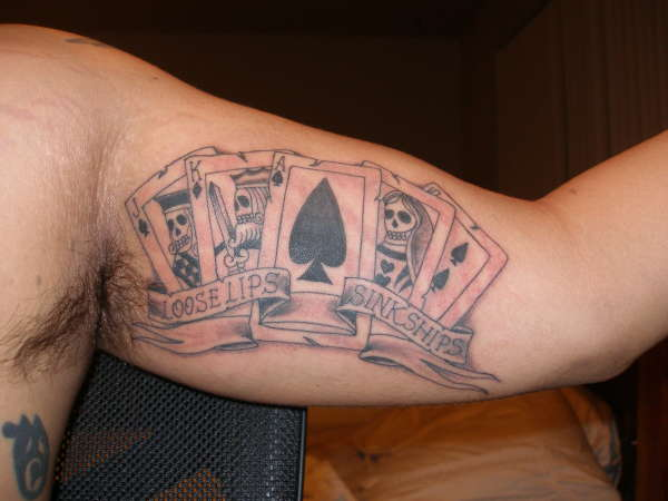 Loose lips sink ships tattoo for Sinking ship tattoo