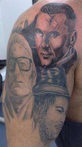 SNATCH tattoo
