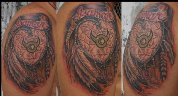 dream love catcher 2 tattoo