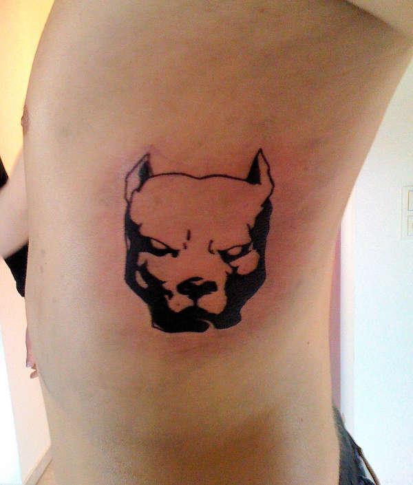 AMSTAFF tattoo