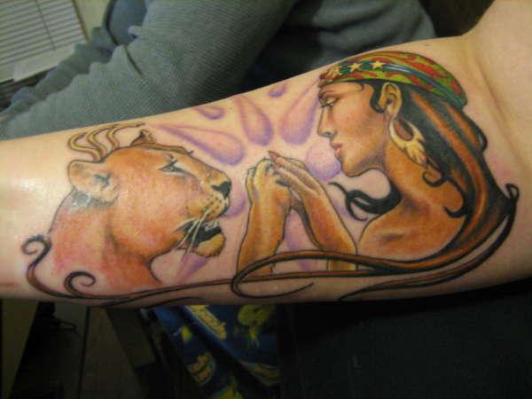 Inanna tattoo