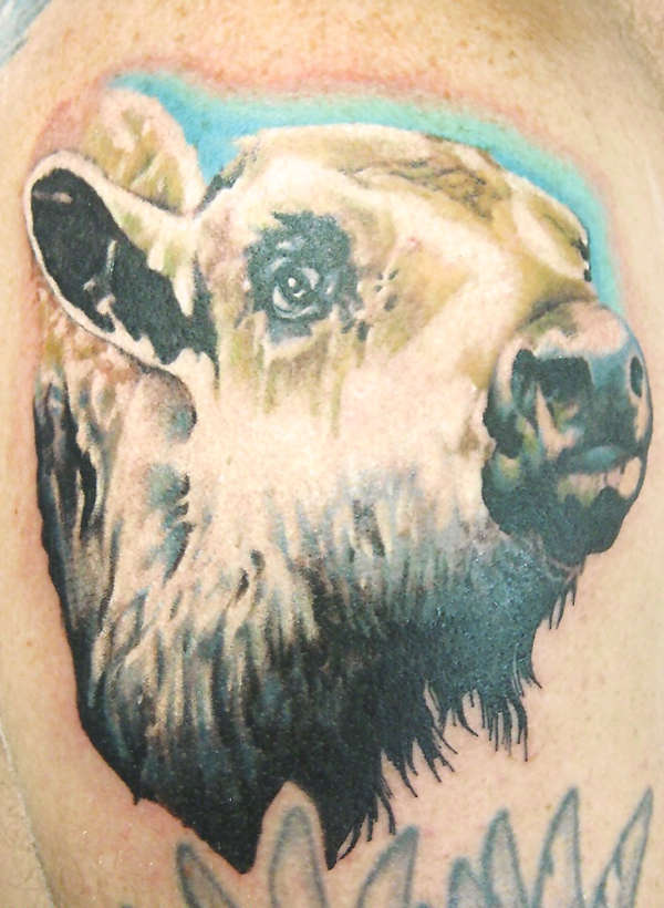 White Buffalo tattoo
