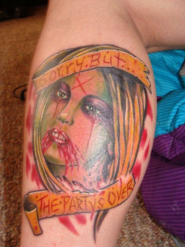 zombie Jenna Jameson tattoo