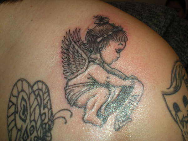 BABY ANGEL tattoo