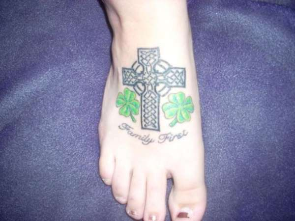 Celtic Family tattoo
