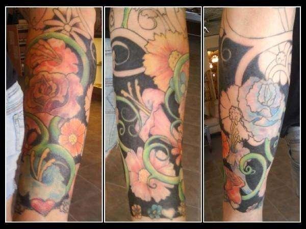 Chris Greenan, It's a Fine Line tattoo