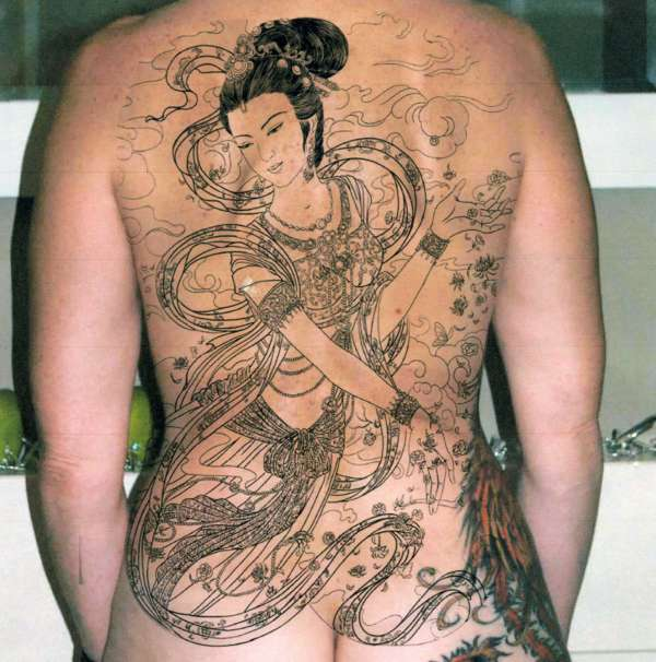 BACK PIECE DESIGN tattoo