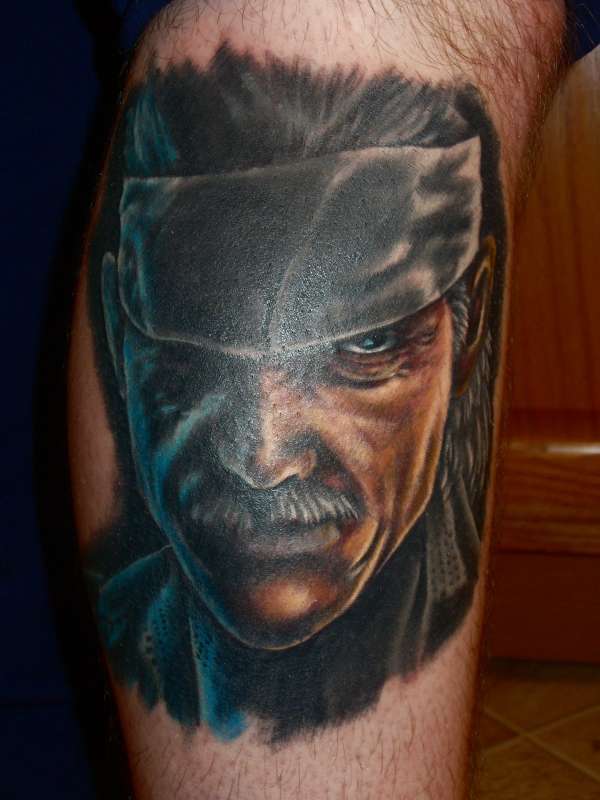 Solid Snake Tattoo
