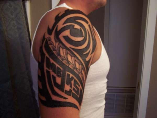 Family tribal tattoo for Tribal family tattoo