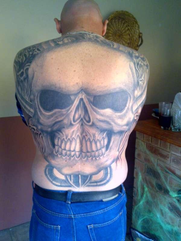 Skull & The Lost Soul tattoo