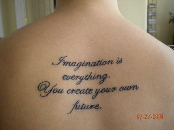The Secret tattoo