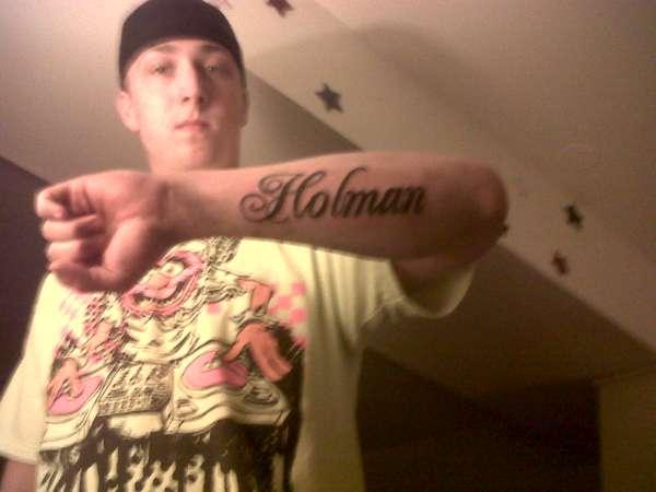 c04526094de52 my last name tattoo