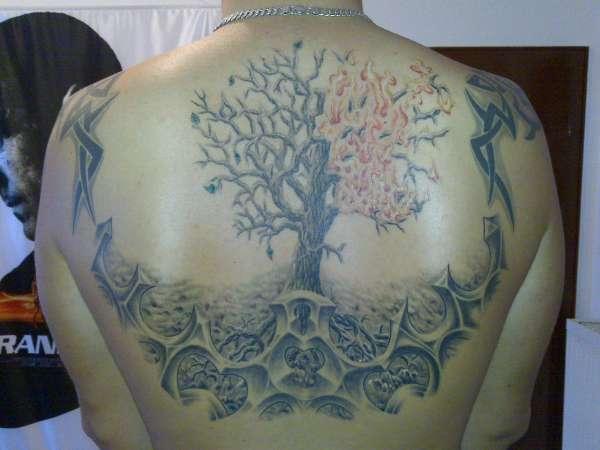 Tree of live tattoo
