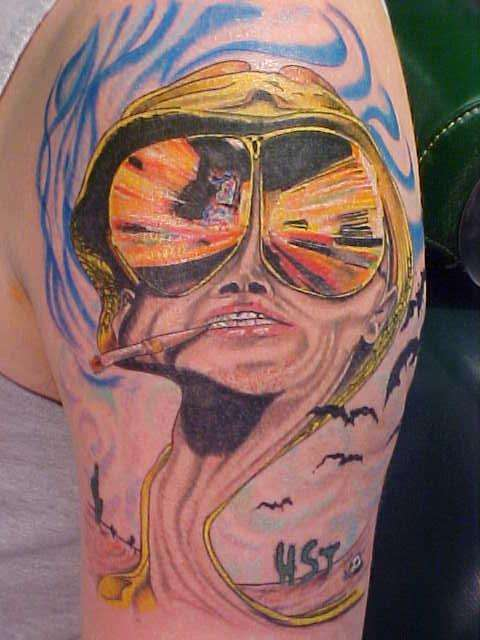 Fear and Loathing tattoo