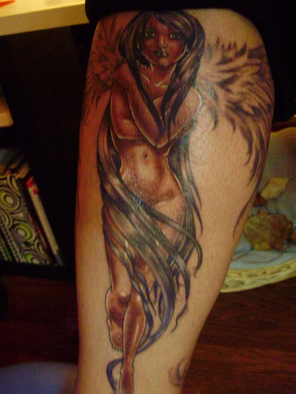 Elas Leg! tattoo