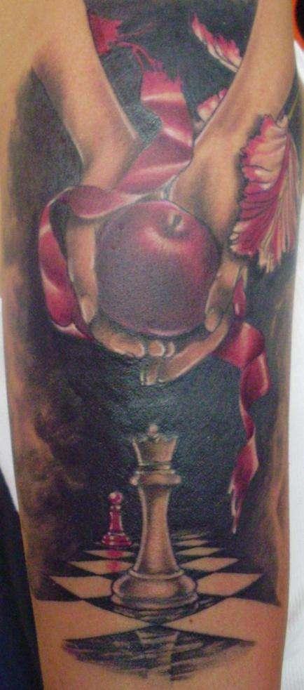Twilinght Sleeve tattoo