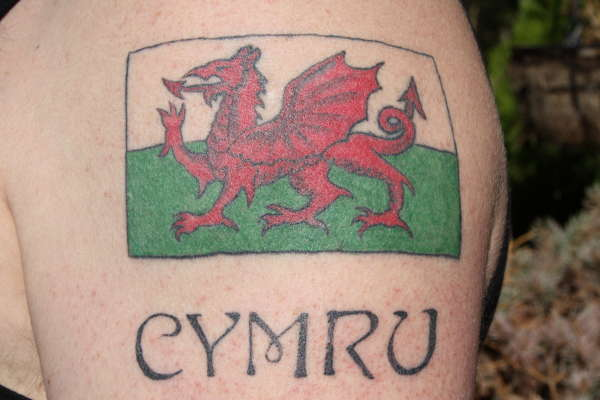 welsh flag tattoo. Black Bedroom Furniture Sets. Home Design Ideas
