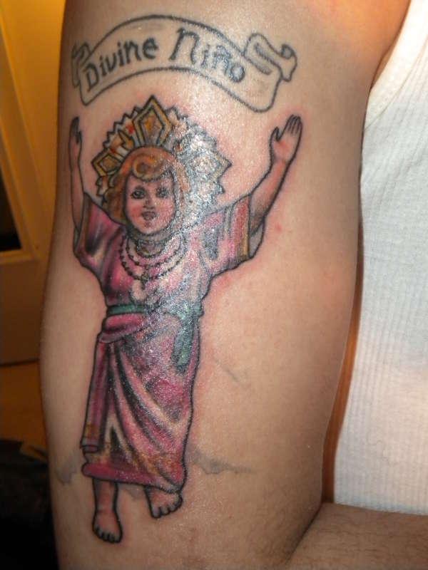 EL DIVINO NINO tattoo