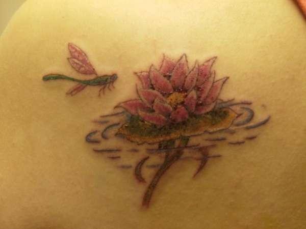 lotus amp dragonfly tattoo