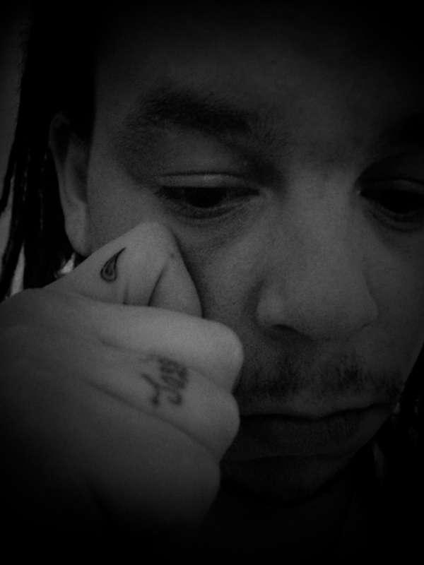 Tear Drop tattoo