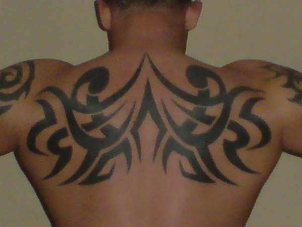 me back tattoo