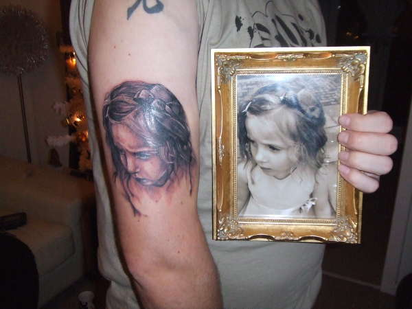 my little girl tattoo