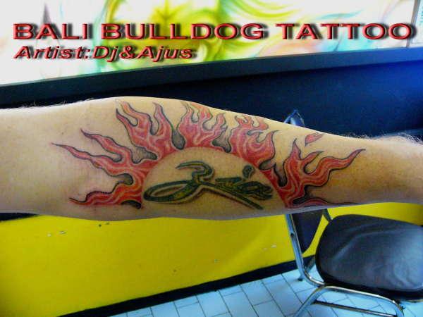 Sun tattoo for Inked temptations tattoo studio