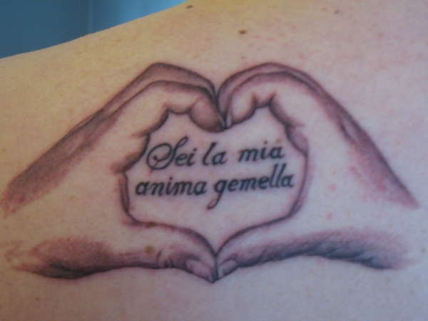 You are my soul mate tattoo