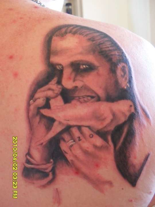 ozzy osbourne tattoo