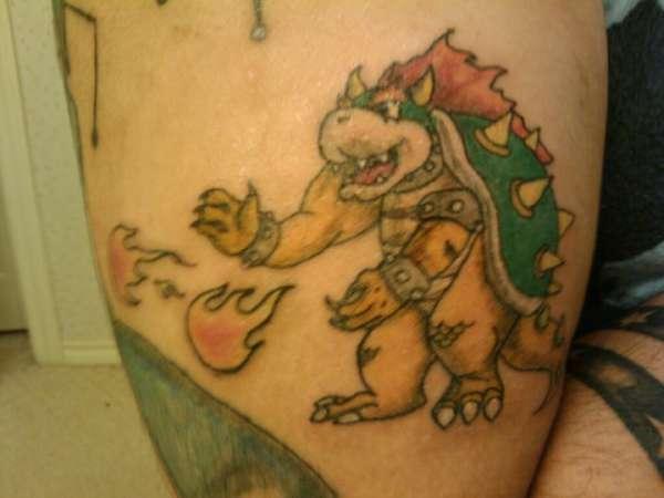 King Koopa tattoo