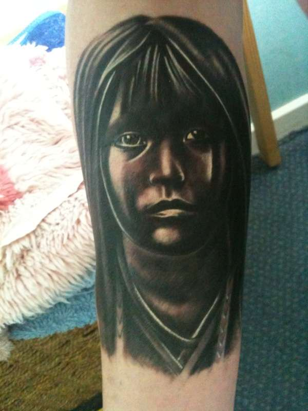 Native Child tattoo