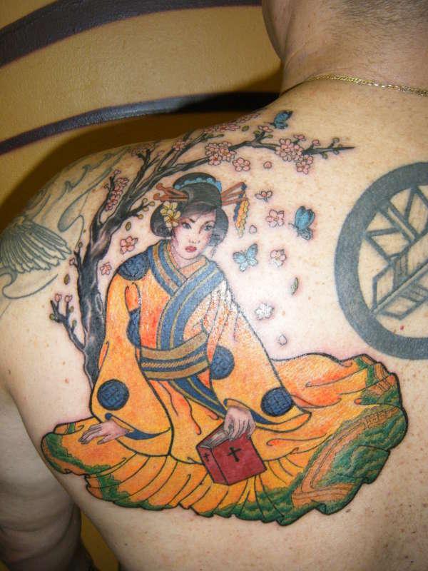 Myra tattoo