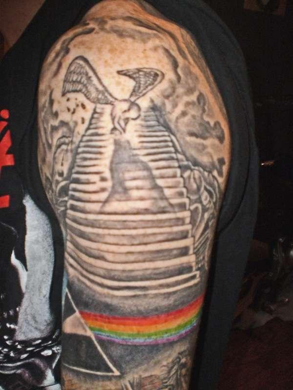 floyd/zeppelin tattoo