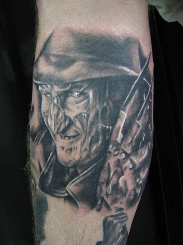 Nightmare on elm street tattoo for Elm street tattoo