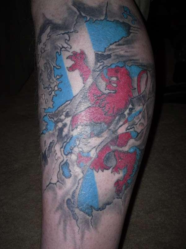 pride of scotland tattoo