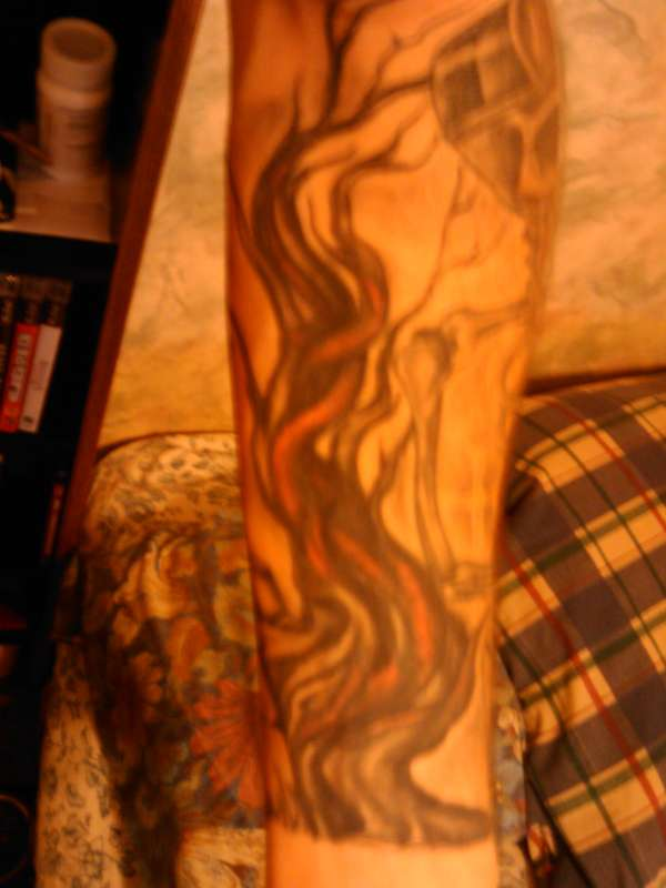 The dead tree tattoo