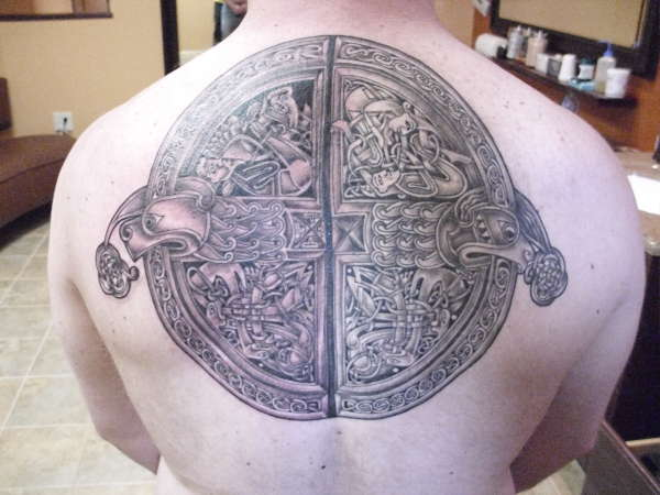 celtic colage tattoo