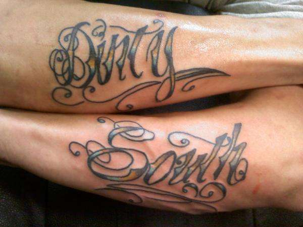 dirty south tattoo