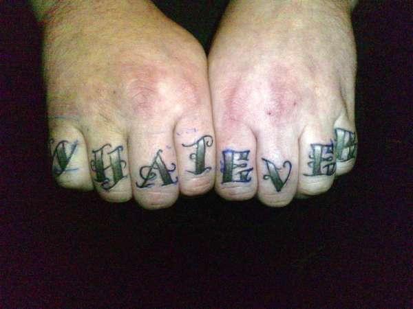 knuckle tattoo tattoo