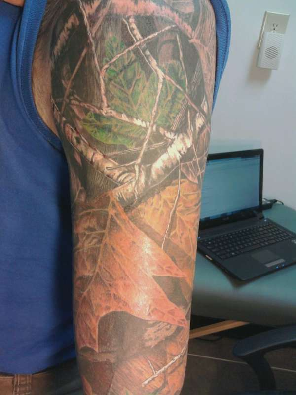 mossy oak tattoo