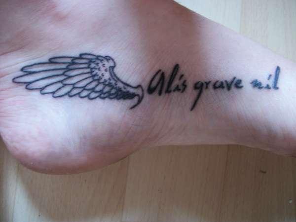 Alis grave nil tattoo