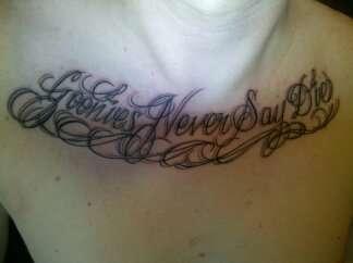Goonies! tattoo