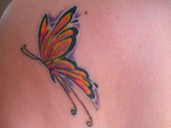 Margo's Butterfly tattoo