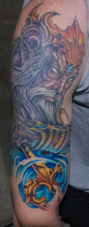 Poseidon Update tattoo