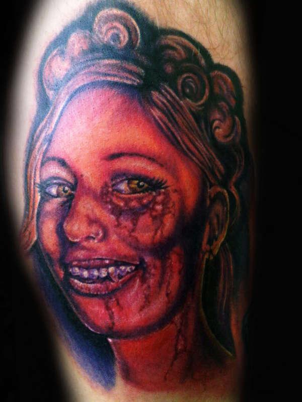 dead girl tattoo