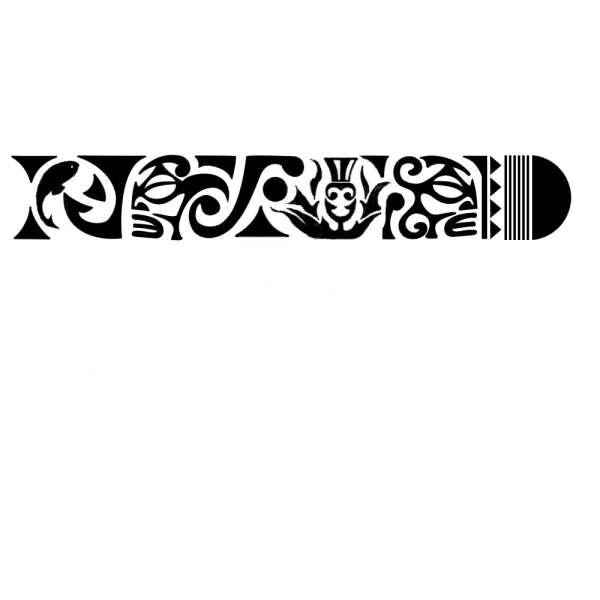 Maori Inspired Tattoo