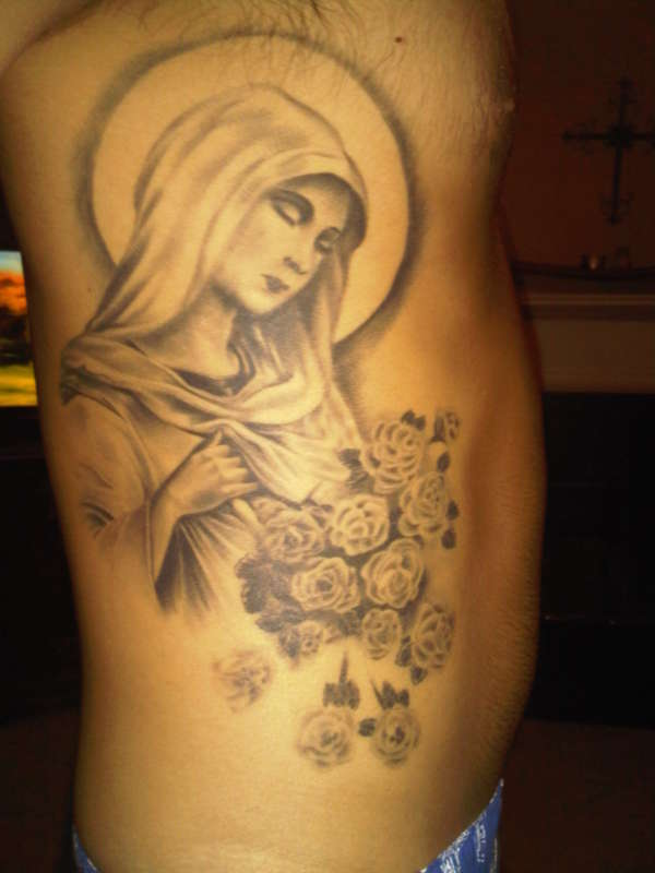 Virgin Mother Mary Tattoo tattoo