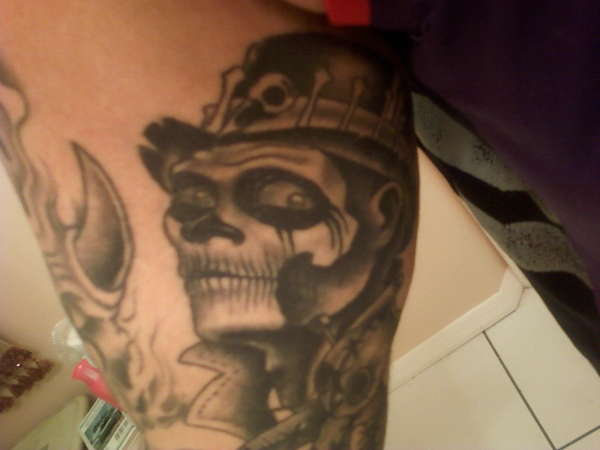 New  Orleans Witch Doctor tattoo