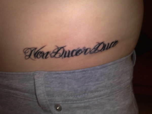 non ducor duco tattoo